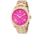 Fossil AM4539 Gold Tone Stainless Steel women's ..