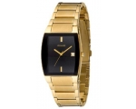 Accurist Men's Gold Bracelet Watch Mb808b