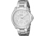 Fossil AM4509 Cecile Chronograph Silver Dial Lad..