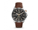 Fossil CH2944 Wakefield Black Dial Brown Leather..