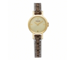 Coach 14501606 Quartz Gold Tone Dial Ladies Watch