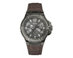 Guess W0040G2 Rigor Leather Strap Chrono -Melbn ..