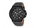 Guess W0040G1 Rigor Leather Strap Chrono -Melbn ..