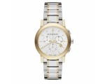 Burberry BU9751 the City Two-Tone Unisex Watch