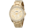 FOSSIL AM4482 Cecile Multifunction Champagne Lad..