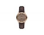 Burberry BU9755 the City Chocolate Leather Chron..