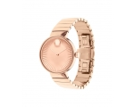 Movado 3680013 Ladies Rose Gold Tone Swiss Quart..