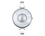 Movado 0606561 Brila Silver Dial  Bezel Stainles..