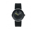 MOVADO 3680003 Edge Black Aluminum Dial Men's Wa..