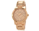 Burberry BU9146 Rose Gold  Stainless 34 mm Swiss..