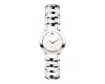 Movado 0606249 Women's Stainless-Steel White Rou..