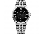 Hugo Boss 1512428 Black Face Stainless Steel Gen..