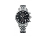 Hugo Boss 1512446 Men's Black Dial Stainless Ste..