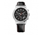 Hugo Boss 1512584  Mens' Chronograph Black Leath..