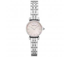 Armani AR1781 Ex-Display Classic Pink Steel Women's Watch