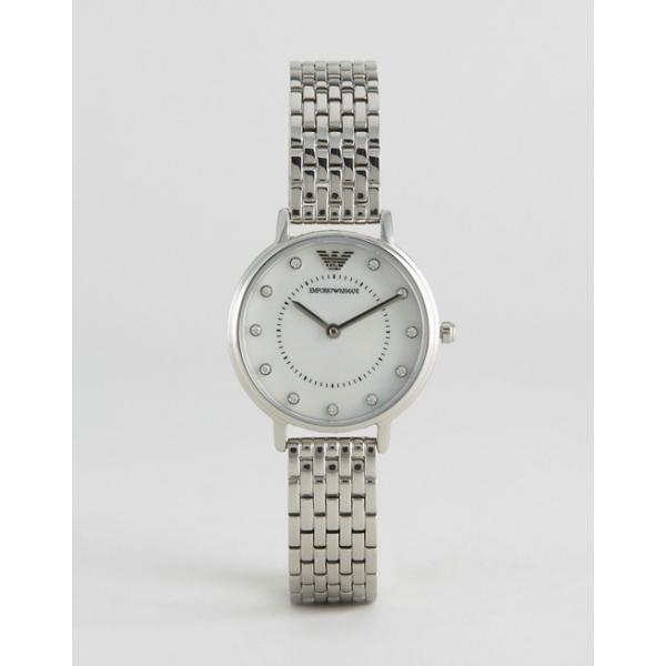 3efeaf89 Emporio Armani AR2511 Women's Crystal Bracelet Strap Watch