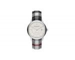 Burberry BU10002 Stainless Steel Textile Quartz ..