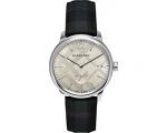 Burberry BU10008 Men's Check Stamped Round Dial ..