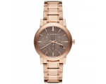 Burberry BU9754 The City Rose Gold-Tone Unisex W..