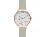 Olivia Burton OB16CH03 Busy Bees Grey Leather St..