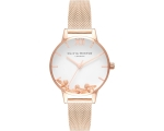 Olivia Burton OB16CH01 Busy Bees Rose Gold Mesh ..