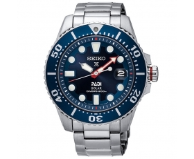Seiko SNE435J1 PADI Solar Dive Men's Watch Special Edition