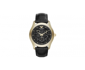 Emporio Armani AR4674 Meccanico Automatic Gold Black Men's Watch