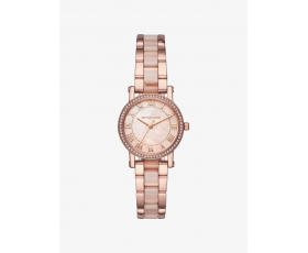 Michael Kors MK3699 Petite Norie Pave Rose Gold Women Watch