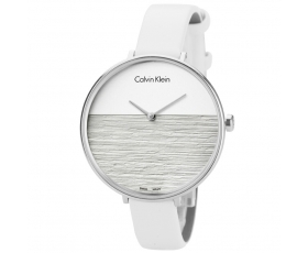 Calvin Klein K7A231L6 Rise Collection Leather Strap Women's Watch