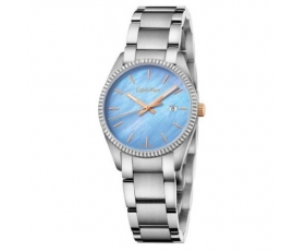 Calvin Klein K5R33B4X Alliance Blue Mother of Pearl Dial Ladies Watch