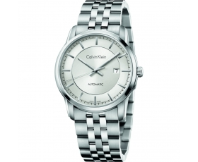 Calvin Klein K5S34146 Infinity Silver Dial Automatic Men's Watch