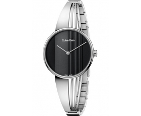 Calvin Klein K6S2N111 Black Dial Drift Swiss Ladies Watch