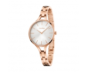 Calvin Klein K7E23646 Graphic Collection Rose Gold Steel Women's Watch