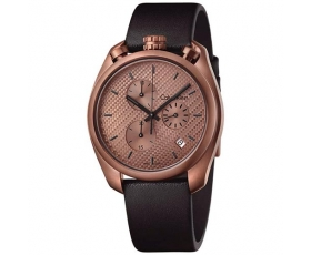 Calvin Klein K6Z17TCK Control Chronograph Rose Gold Dial Men's Watch