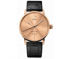 Calvin Klein K7621201 Post Minimal Rose Gold Dial Men's Watch
