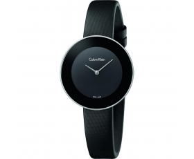 Calvin Klein K7N23CB1 Chic Collection Black Round Women's Watch