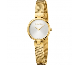 Calvin Klein K8G23526 Gold Plated Authentic Women's Dial Watch