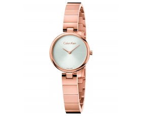 Calvin Klein K8G23646 Authentic Rose Gold Tone Women's Dial Watch