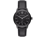 Burberry BU10003 Black Leather Strap Men's Watch