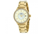 Fossil BQ1106 Gold Tone Stainless Steel Ladies W..