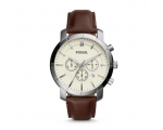 Fossil BQ1280 Brown Leather Quartz Men's Watch