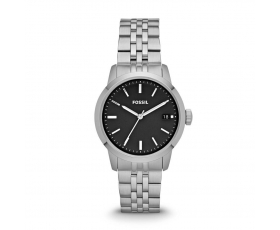 Fossil FS4818 Townsman Black Dial Stainless Steel Ladies Watch