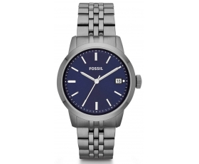 Fossil FS4819 Townsman Blue Dial Stainless Steel Men's Watch