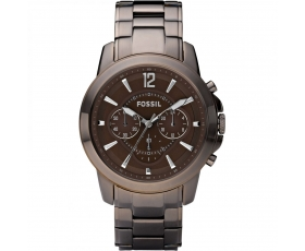 Fossil FS4608 Grant Chronograph Brown Stainless Steel Men's Watch