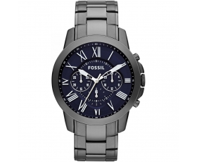 Fossil FS4831 Grant Chronograph Dark Blue Dial Men's Quartz Watch