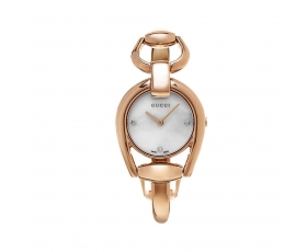 Gucci YA139508 Horsebit Mother of Pearl Dial Ladies Watch