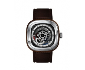 Sevenfriday p3-02 P-Series Brown PVD Steel Automatic Men's Watch
