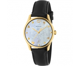 Gucci YA1264044 G-Timeless Mother of Pearl Dial Ladies Watch