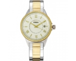 Fossil BQ1107 Crystal Two-Tone Stainless Steel L..