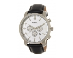 Fossil BQ1526 Lance Black Leather Strap Men's Wa..